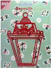 Joy Crafts Metal Stencil - Christmas Lantern