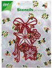 Joy Crafts Metal Stencil - Christmas Stars