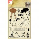 Joy Crafts Die & Clear Stamp Set - Barbecue