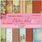 "Joy Crafts 6""x6"" Paper Pad - Warm Christmas (48 sheets)"