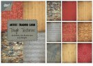 Joy Crafts Mini Paper Pad - Tough Textures (36 sheets)