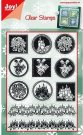 Joy Crafts Clear Stamp Set - Christmas #2