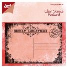 Joy Crafts Clear Stamp - Christmas Postcard