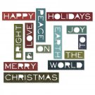 Sizzix Thinlits Die Set - Holiday Words #2 Thin by Tim Holtz