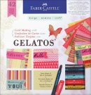 Faber Castell Card Making Kit With Gelatos Set (42 pieces)