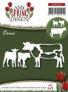 Amy Design Dies - Spring Cows