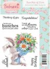 Bebunni Floral Unmounted Rubber Stamp - Bunches of Love by Crafters Companion