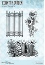 Blue Fern Studios Clear Stamp Set - Country Garden