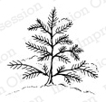 Impression Obsession Cling Stamp - Tiny Tree