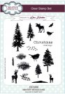 Creative Expressions A5 Clear Stamp Set - Winter Woodland