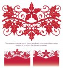 Creative Expressions Dies by Sue Wilson - Festive Collection Poinsettia and Holly Gemini (3 dies)