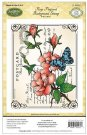 Justrite Cling Stamp - Rose Postcard