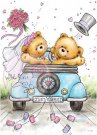 Wild Rose Studio Clear Stamps - Just Married