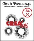 Crealies Clearstamp Bits&Pieces no. 39