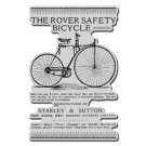 Stampendous Cling Stamp - Bicycle Works