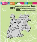 Stampendous Cling Stamp - Birthday Toad