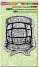 Stampendous Cling Rubber Stamp - Toybox Window