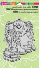 Stampendous Cling Stamp - Owl Clock