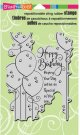 Stampendous Cling Stamp - Birthday Balloons