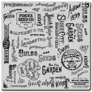 Stampendous Cling Stamp - Seed Background