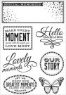 Kasiercraft Clear Stamp Set - All That Glitters