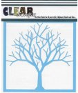 "Clear Scraps 6""x6"" Stencils - Bare Tree"