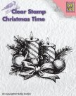 Nellies Choice Clearstamp - Christmas Time Candles