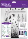 Docrafts A5 Clear Stamp Set - Forest (20 stamps)