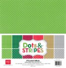 "Echo Park 12""x12"" Collection Kit - Christmas Dots & Stripes (12 sheets)"