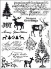 Marianne Design Elines Clear Stamp Set - Jingle Bells