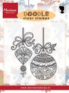 Marianne Design Clear Stamps - Doodle Christmas Decoration