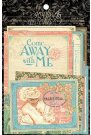 Graphic 45 Come Away With Me Journaling & Ephemera Cards