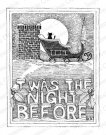 Impression Obsession Rubber Stamp - The Night Before