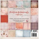 "49 & Market - 12""x12"" Heirloom Botanicals Paper Pack (9 sheets)"