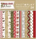 "Photo Play 6""x6"" Paper Pad - Holiday Cheer (24 sheets)"