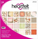 "Heartfelt Creations 12""x12"" Double-Sided Paper Pad - Sunrise Lily (24 sheets)"