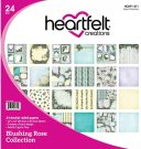 "Heartfelt Creations 12""x12"" Double-Sided Paper Pad - Blushing Rose (24 sheets)"
