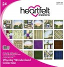 "Heartfelt Creations 12""x12"" Double-Sided Paper Pad - Woodsy Wonderland (24 sheets)"