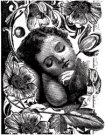 LaBlanche Silicone Stamp - SLEEPING CHILD