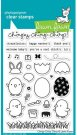 Lawn Fawn Clear Stamp Set - Chirpy Chirp Chirp