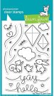 Lawn Fawn Clear Stamp Set - Yay Kites