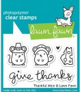 Lawn Fawn Clear Stamp Set - Thankful Mice