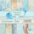Lemoncraft 12x12 Paper Collection - Gossamer Blue (6 papers)