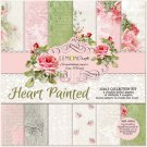 "Lemoncraft 12""x12"" Paper Collection - Heart Painted (6 papers)"