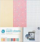 "Silhouette Adhesive-Back 12""x12"" Washi Paper (3 pack)"
