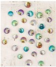Prima Say It In Crystals Adhesive Embellishments - Garden Fable (30 pack)