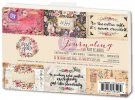 "Prima 4""x6"" Journaling Note Card Pad - Rossi Belle (45 sheets)"