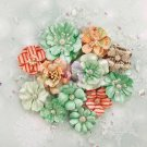 Prima Sweet Peppermint Flowers - Holiday Greetings (12 pack)