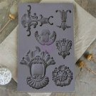 Prima Iron Orchid Designs Vintage Art Decor Mould - Baroque #2