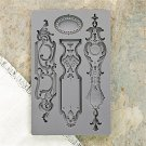 Prima Iron Orchid Designs Vintage Art Decor Mould - Escucheons #1